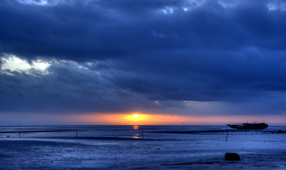 Sunset di Menara Satu Merauke