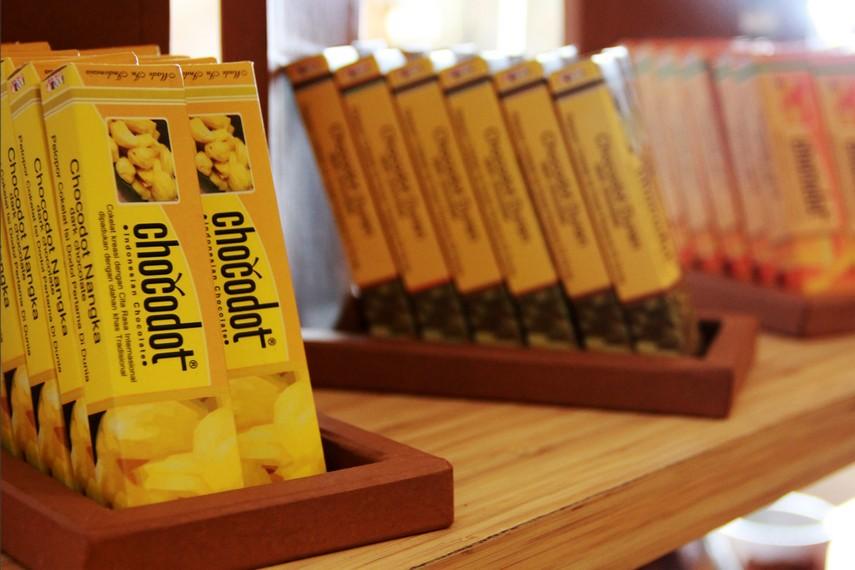 Tak hanya mengandalkan dodol, chocodot juga memberikan variasi lain berupa coklat dengan rasa buah