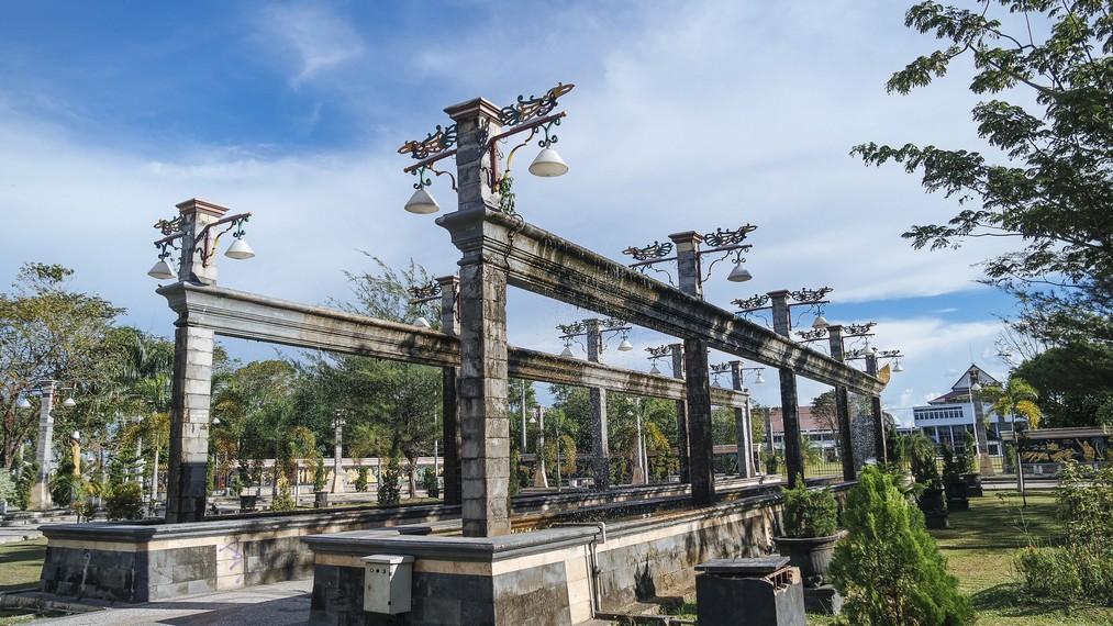 Taman Kota Palangkaraya disebut juga Taman Perjuangan