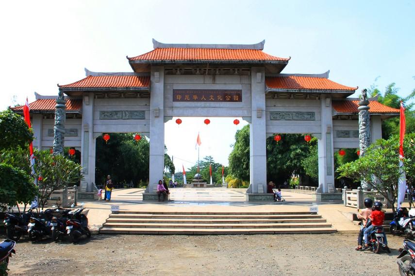 Taman ini memasuki tahap pembangunan pada 8 November 2006, ditandai dengan peresmian gapura di depan taman
