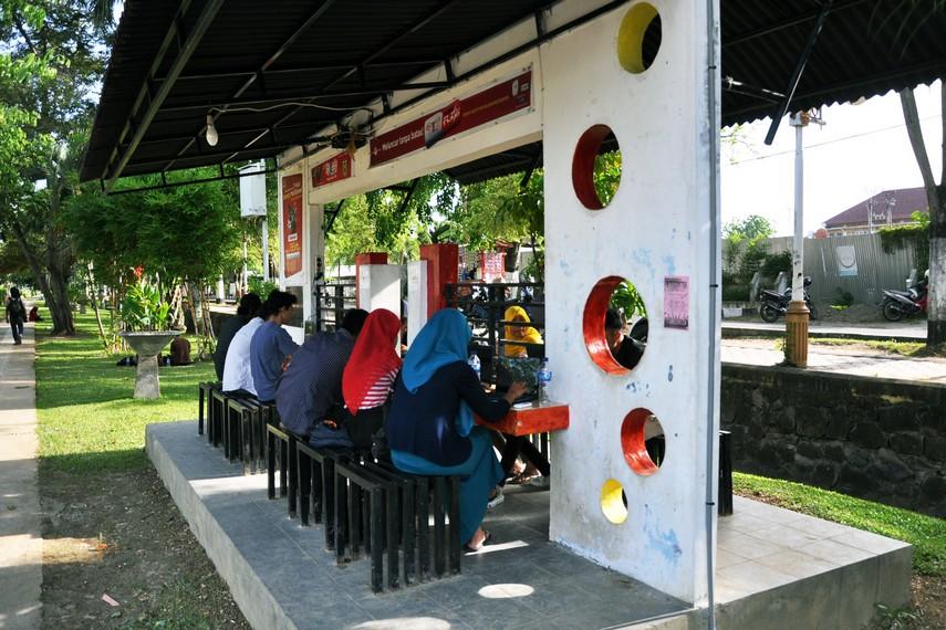 Tamansari juga dilengkapi dengan fasilitas hotspot