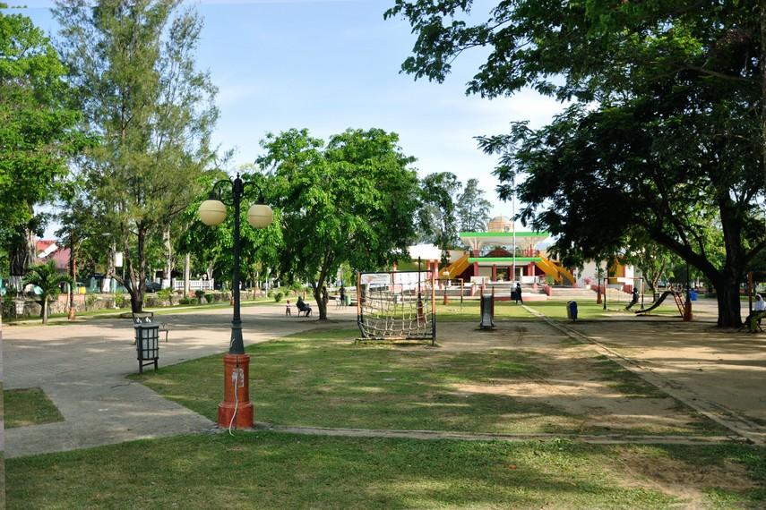 Tamansari sering digunakan untuk berbagai event pameran di Banda Aceh