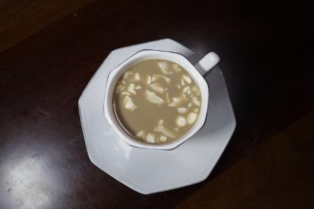 Tampilan kopi Rarobang yang telah siap disajikan