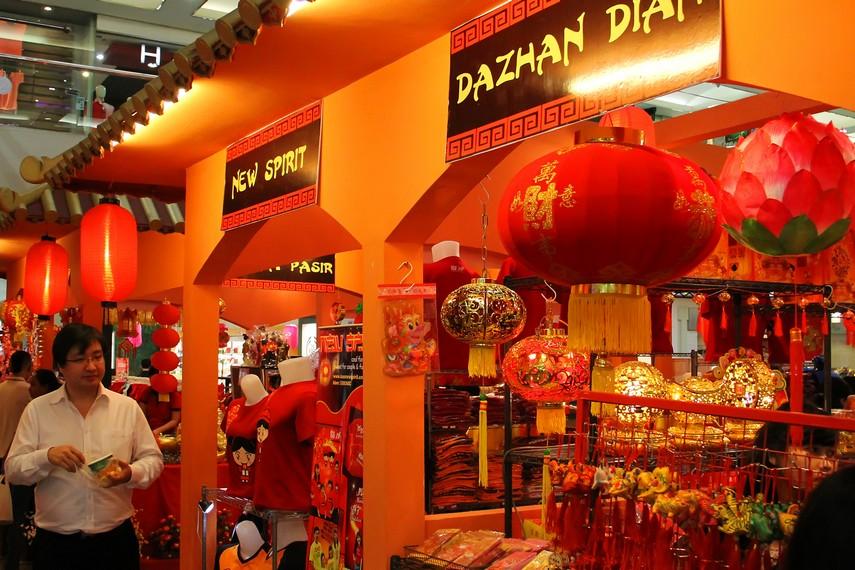 Tradisi memasang lampion sebagai bagian dari perayaan tahun baru Imlek telah ada sejak era Dinasti Ming