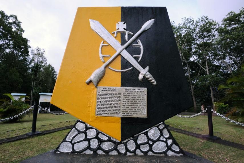 Tugu Mac Arthur yang menjadi tonggak sejarah kedatangan pasukan sekutu di bumi Papua