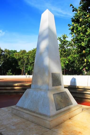 Tugu peringatan satu tahun kemerdekaan Republik Indonesia