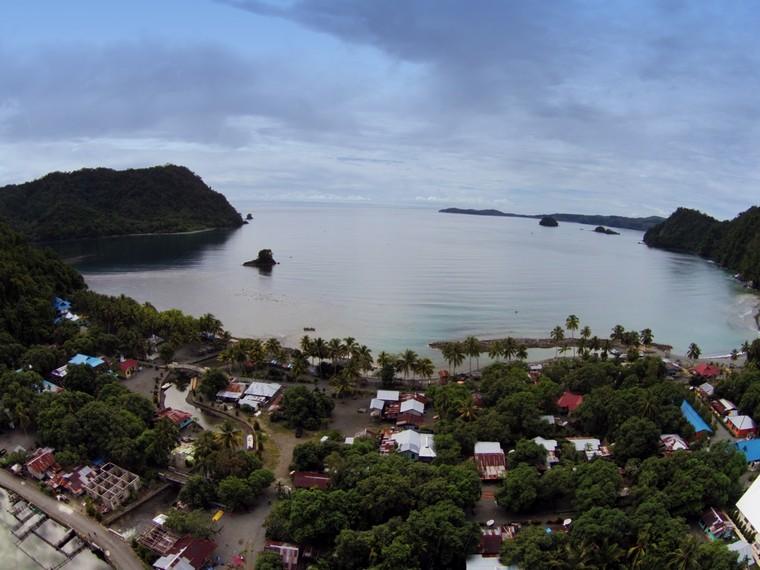 Wajah Desa Tablanusu dari ketinggian