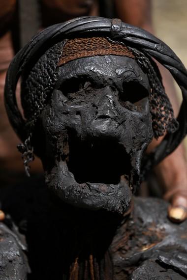 Wajah mumi Wimotok Mabel sang Kepala Suku
