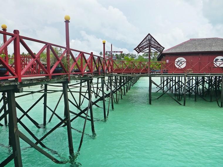 Water Villa di bibir pantai