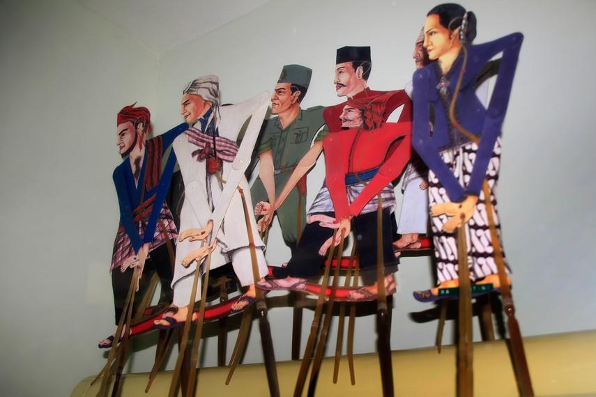 Wayang Pahlawan yang terdapat di Museum Wayang Kekayon