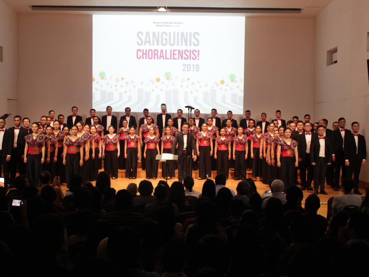 BATAVIA MADRIGAL SINGERS KEMBALI HADIRKAN KONSER SANGUINIS CHORALIENSIS! 2019