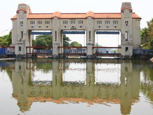 Bendungan Jagir, Dam Artdeco Peninggalan Belanda