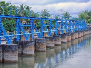 Bendungan Pice, Bendungan Bersejarah di Kota Gantong