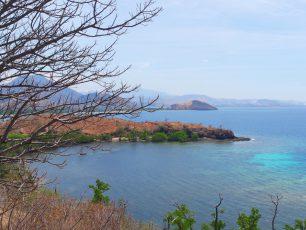 Memandang Kota Maumere Dari Bukit Salib di Tanjung Kajaluwu