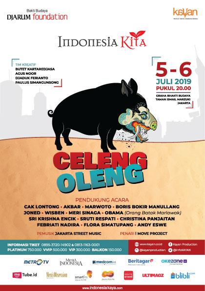 """""""Celeng Oleng"""", Program Indonesia Kita Tahun 2019"""