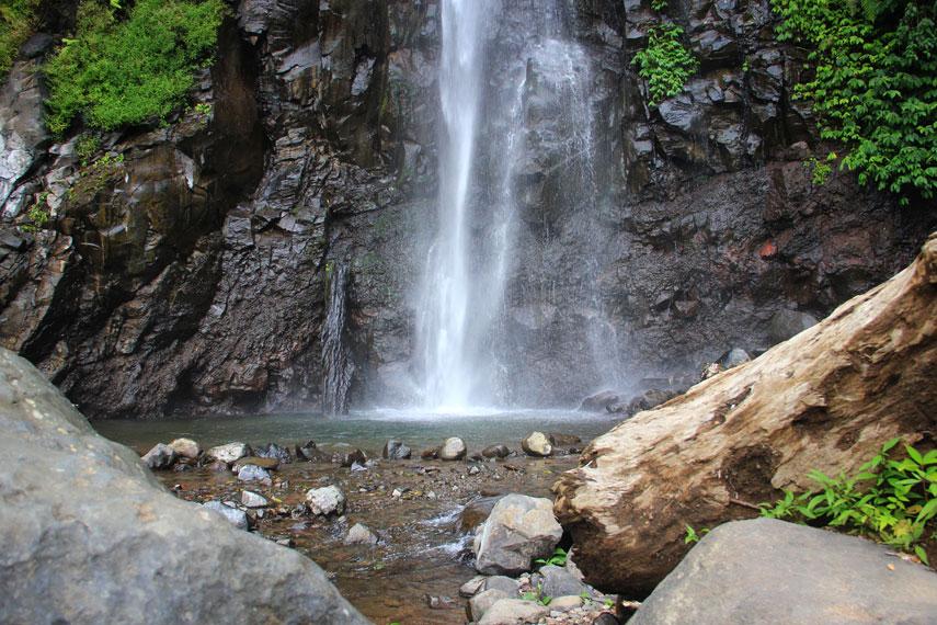 Curug Tancak menjadi salah satu sudut keindahan alam Jember yang menjadi destinasi wisata
