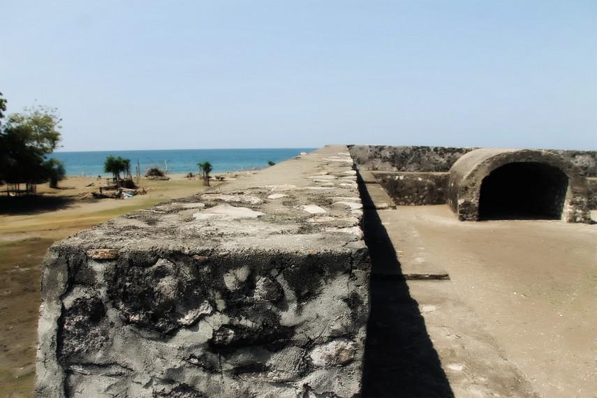 Dahulu Benteng ini pernah diduduki Portugis