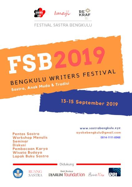 Festival Sastra Bengkulu (FSB) 2019