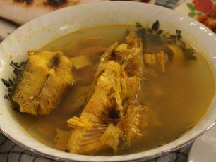 Kesegaran Sup Gangan Khas Belitung