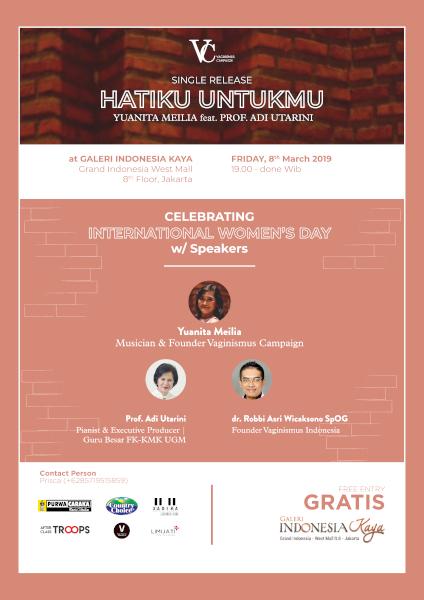 Single Release 'Hatiku Untukmu' Yuanita Meilia feat Prof. Adi Utarini