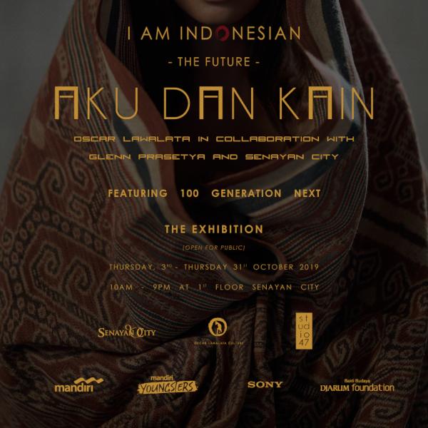 I AM INDONESIAN The Future : Aku dan Kain