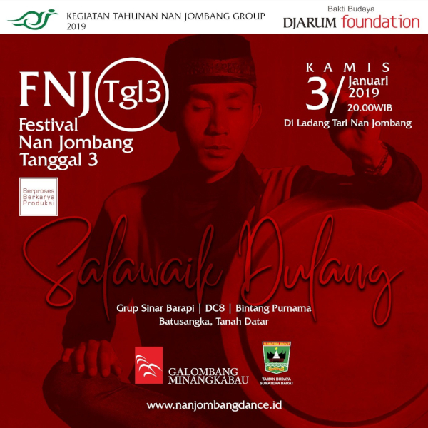 Kesenian Tradisi Salawaik Dulang di Festival Nan Jombang