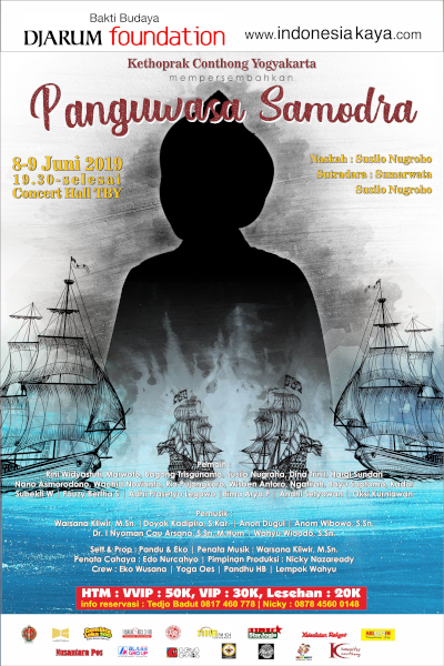 Kethoprak Conthong Yogyakarta Mempersembahkan Lakon Panguwasa Samodra