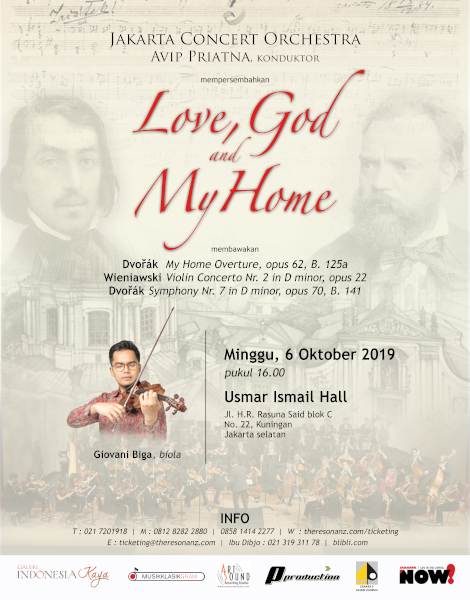 "Konser Klasik ""Love God and My Home"""