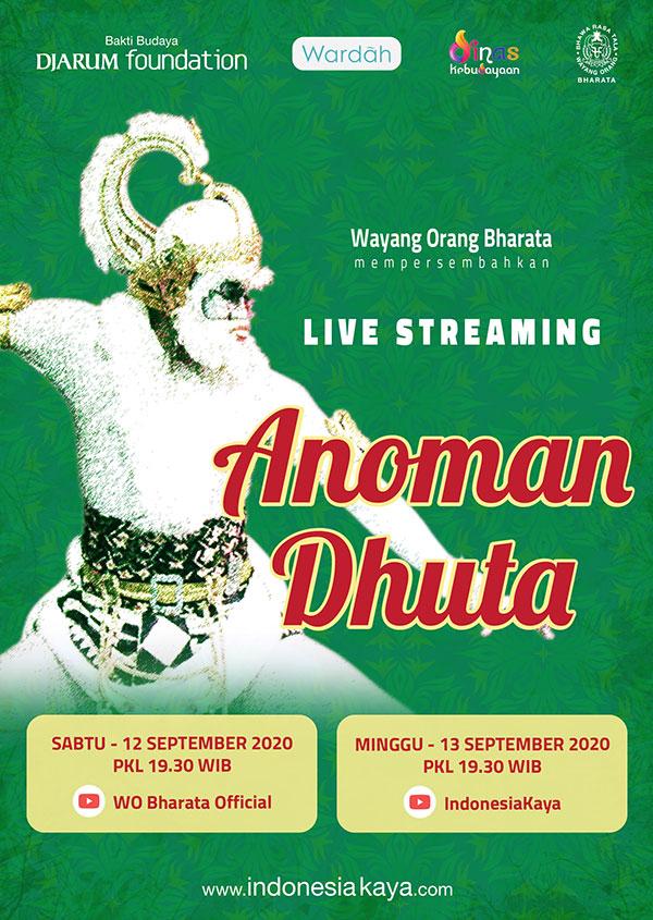 """Lakon """"Anoman Duta"""" oleh Wayang Orang Bharata"""