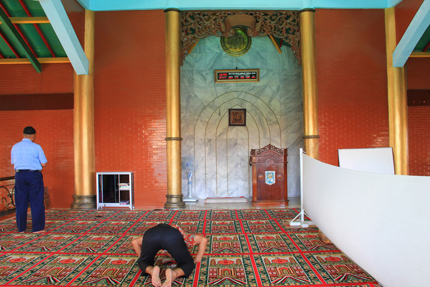 Pembangunan Masjid Cheng Hoo tidak lepas dari dukungan PITI, sebagai organisasi yang mewadahi Islam Tionghoa di Indonesia