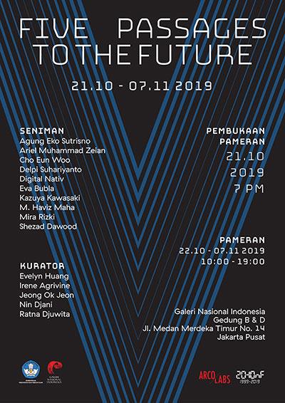 "Pameran ""Five Passages To The Future"" oleh Arcolabs dan HONF"