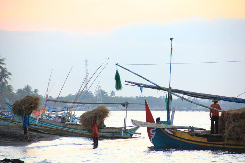 Pantai Banongan berlokasi di sekitar jalur Pantura Jawa Timur tepatnya berada di Desa Wringin, Kecamatan Asembagus, Situbondo