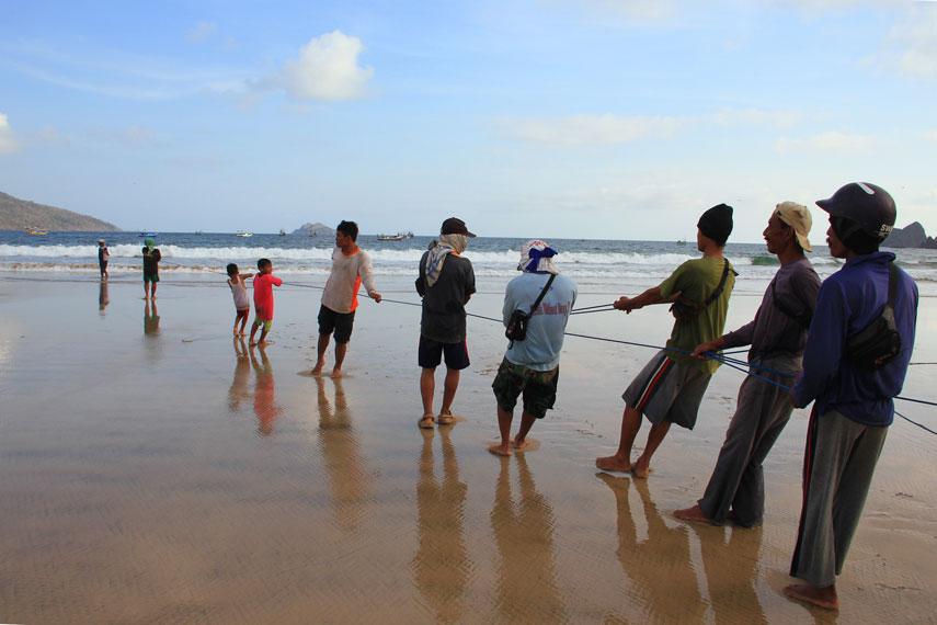Pantai Pancer juga dikenal sebagai pantai nelayan yang sebagian aktivitasnya menyewakan perahu untuk pengunjung keliling pantai