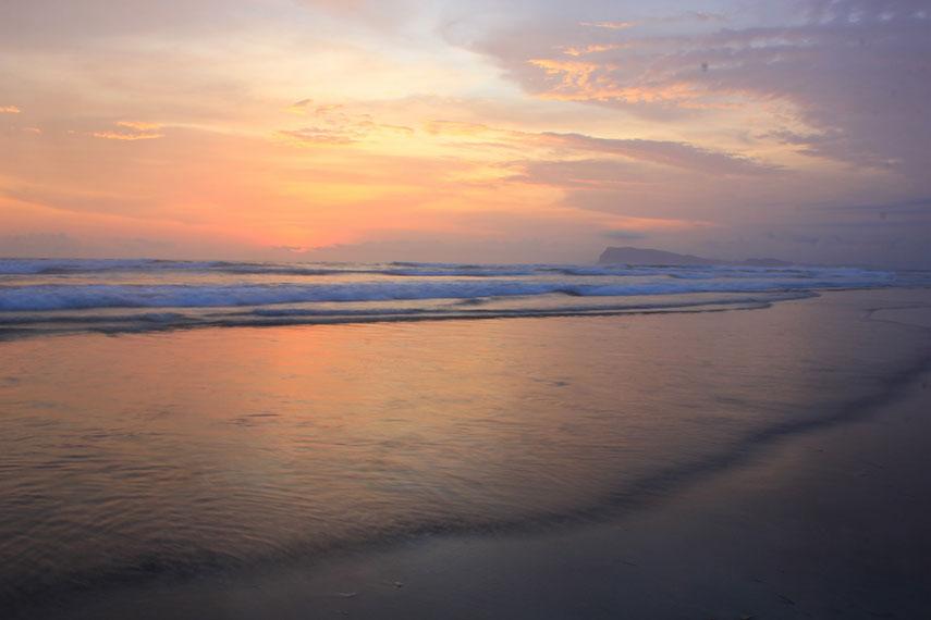 Pantai Triangulasi terletak di Desa Tegaldlimo atau sekitar 70 km dari pusat Kota Banyuwangi