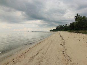 Menikmati Suasana Tenang di Pantai Ketapang