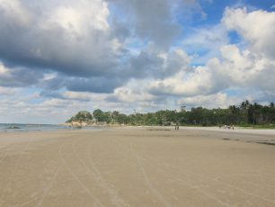 Pantai nan Permai di Negeri Serumpun Selabai