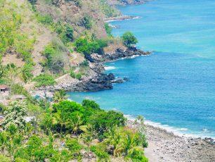 Mengintip Keunikan Pantai Mbu'u, di Nanganesa Ende
