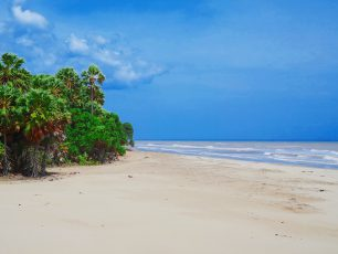 Eksotisme 'Gurun Pasir' Khas Pantai Oetune, Timor Tengah Selatan