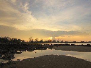 Pantai Pasir Padi, Pantai Indah di Pusat Kota Bangka