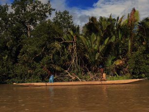 Kejayaan Perahu Lesung Suku Asmat