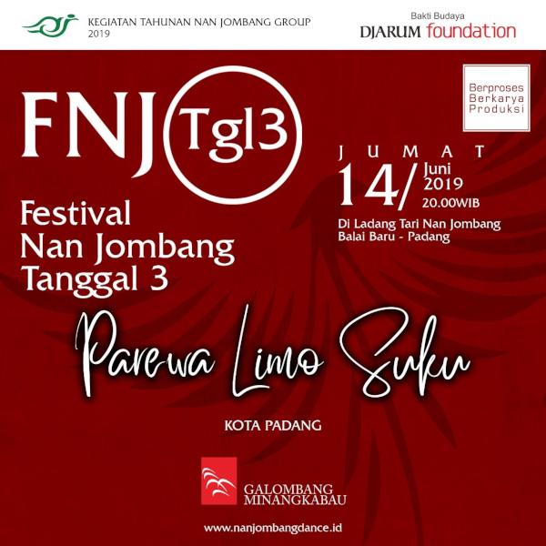 Pertunjukan Berjudul Puti Bungsu di Festival Nan Jombang