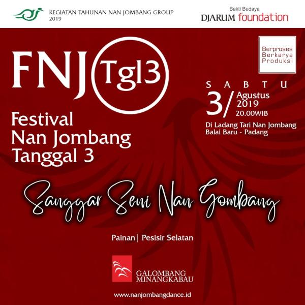 Pertunjukan Sanggar Seni Nan Gombang di Festival Nan Jombang