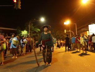 Pokdarwis Kejawen, Keceriaan Ibu-Ibu Berbusana Tradisional di Solo Karnaval