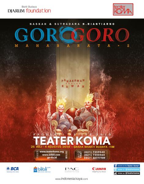 "Produksi ke 158 Teater Koma ""Goro-Goro : Mahabarata 2"""
