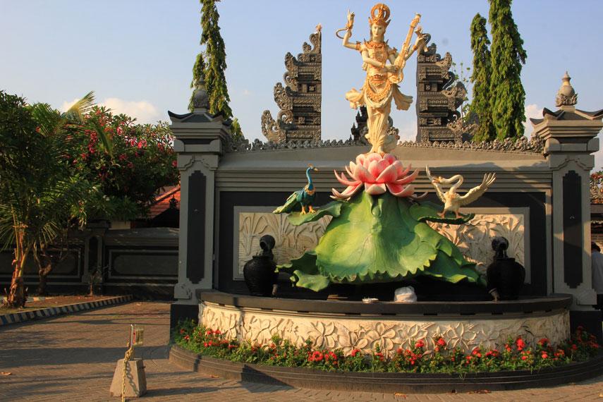 Pura ini mulai digunakan sebagai tempat ibadah saat diresmikan pada 29 November 1969 atau bertepatan dengan hari Saraswati
