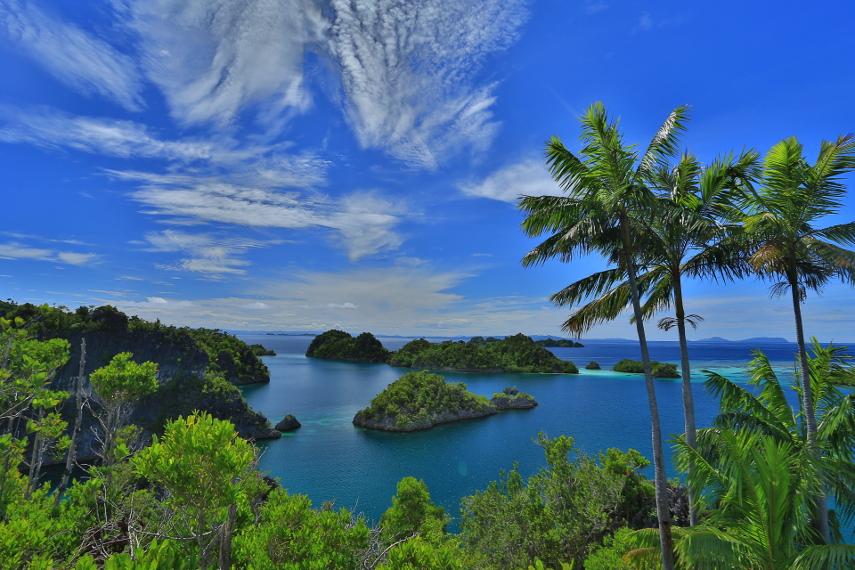 Raja Ampat adalah surga tersembunyi di timur Indonesia