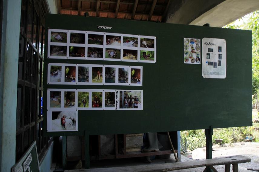 Foto-foto dokumentasi berbagai aktivitas susur gua di Kalisuci Cave Tubing