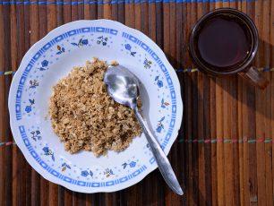 Sinole Sebagai Alternatif Pilihan Makanan Berbahan Dasar Sagu