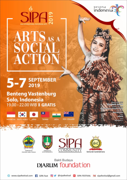 Solo International Performing Arts (SIPA) Tahun 2019