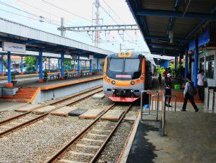 Stasiun Penghubung Tangerang - Jakarta